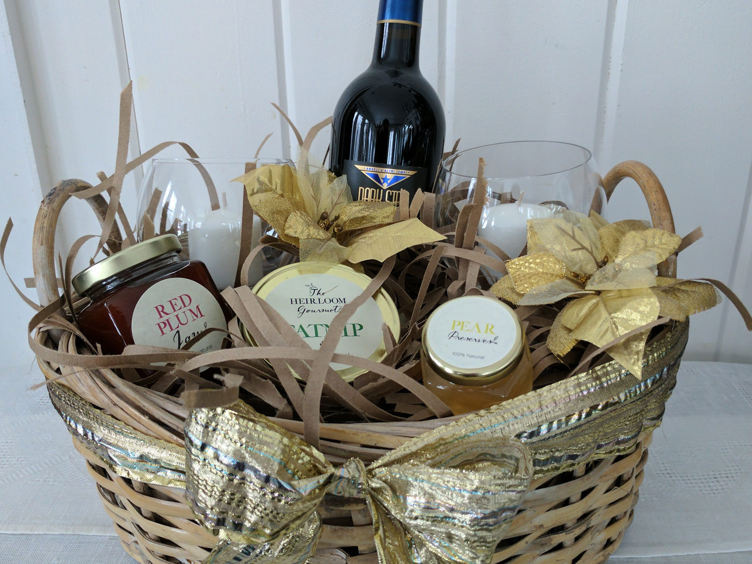 Jams, Herb, Preserves Give Basket